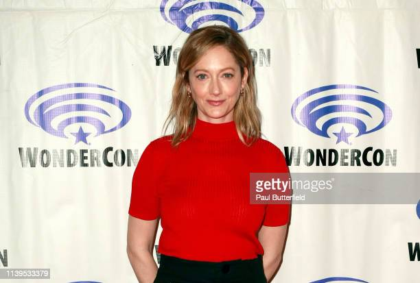 Judy Greer attends the 'Archer' press line during WonderCon 2019 at Anaheim Convention Center on March 31 2019 in Anaheim California