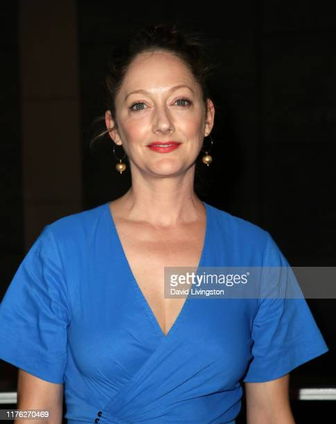 """Judy Greer attends the Center Theatre Group's """"A Play Is a Poem"""" opening night performance at Mark Taper Forum on September 21, 2019 in Los Angeles,..."""