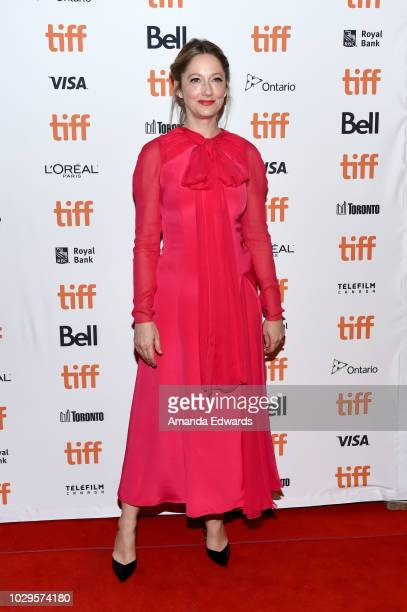 Judy Greer attends the Halloween premiere during 2018 Toronto International Film Festival at The Elgin on September 8 2018 in Toronto Canada