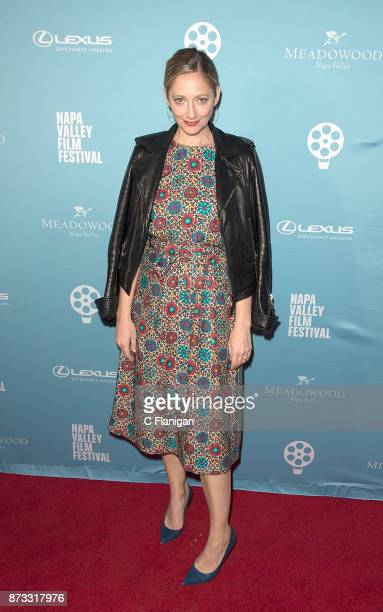 Judy Greer attends the Red Carpet Festival Gala at CIA Copia during the 7th Annual Napa Valley Film Festival on November 11 2017 in Napa California