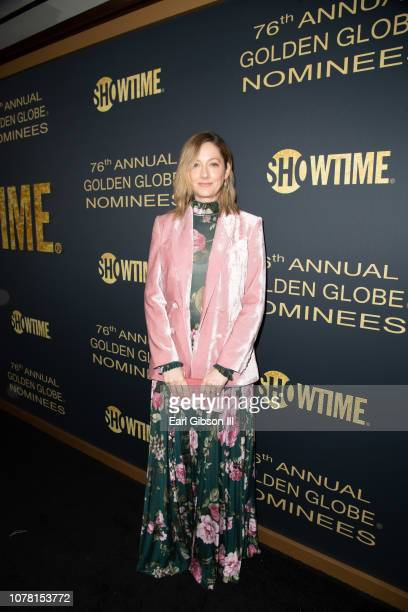 Judy Greer attends the Showtime Golden Globe Nominees Celebration at Sunset Tower Hotel on January 5 2019 in West Hollywood California