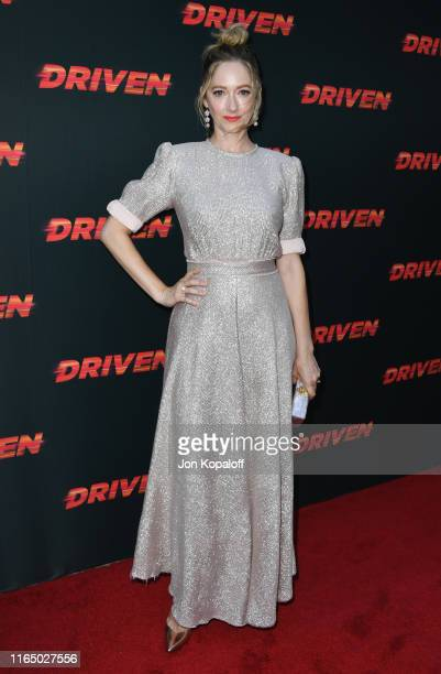 Judy Greer attends Universal Pictures Home Entertainment Content Group's Los Angeles Premiere Of Driven at ArcLight Hollywood on July 29 2019 in...