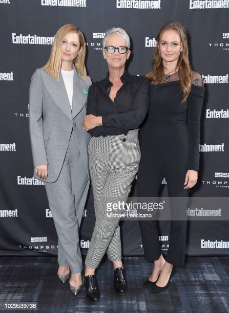 Judy Greer Jamie Lee Curtis and Caitlin Gerard attend Entertainment Weekly's Must List Party at the Toronto International Film Festival 2018 at the...