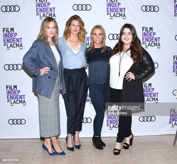Judy Greer Laura Dern Cheryl Hines and Isabella Amara attend the Film Independent at LACMA Screening and QA of 'Wilson' at Bing Theatre At LACMA on...