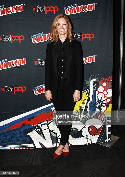 Judy Greer of Archer in the Press Room at 2014 New York Comic Con Day 2 at Jacob Javitz Center on October 10 2014 in New York City