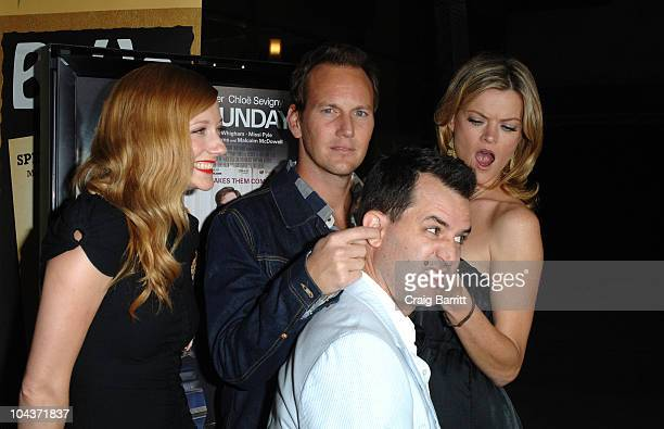 Judy Greer Patrick Wilson Writer/Director Chris D'Arienzo and Missi Pyle arrive at the Premiere of Magnolia Pictures' Barry Mundayon September 22...