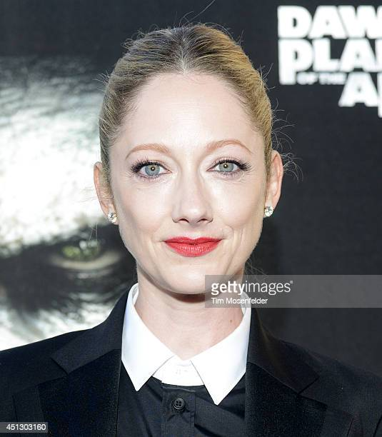 Judy Greer poses at the premiere of 20th Century Fox's Dawn of the Planet of the Apes at the Palace Of Fine Arts Theater on June 26 2014 in San...