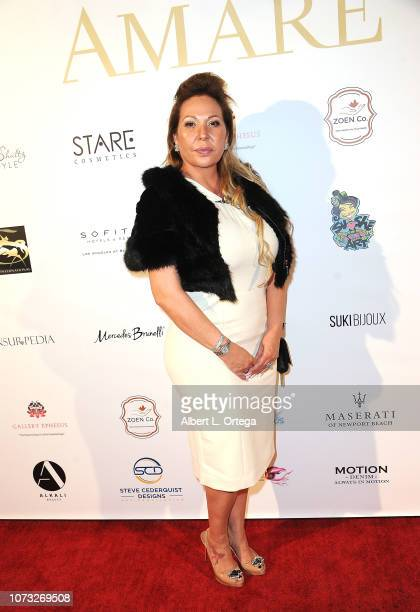 Judy Guzman attends the Amare's Second Year Anniversary 'Believe Issue' Party held at Sofitel Los Angeles At Beverly Hills on December 13 2018 in Los...
