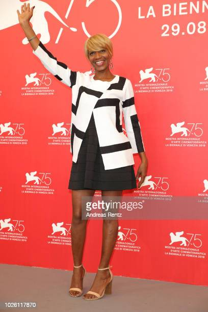 Judy Hill attends 'What You Gonna Do When The World's On Fire' photocall during the 75th Venice Film Festival at Sala Casino on September 2 2018 in...