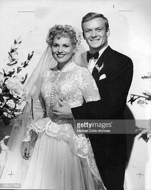Judy Holliday and Aldo Ray in publicity portrait for the film 'The Marrying Kind' 1952