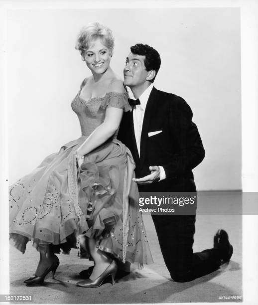 Judy Holliday and Dean Martin publicity portrait for the film 'Bells Are Ringing' 1960