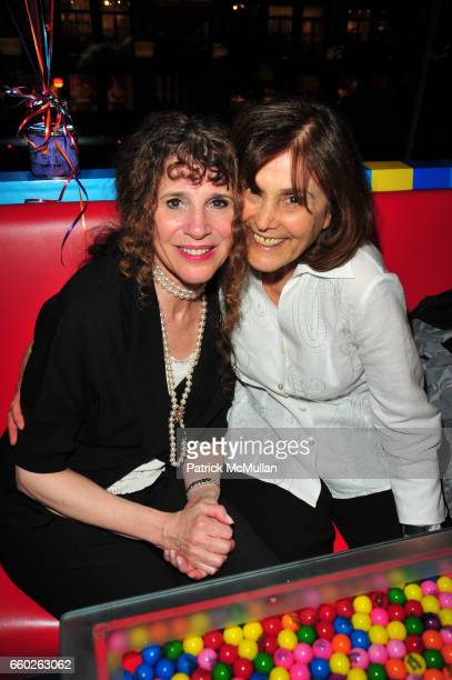Judy Holtzman and Gretchen Buchenholz attend ASSOCIATION to BENEFIT CHILDREN hosts COCKTAILS IN CANDYLAND at Dylan's Candy Bar on June 18 2009 in New...