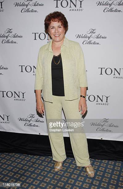 Judy Kaye during 60th Annual Tony Awards Cocktail Celebration at The Waldorf Astoria in New York City New York United States