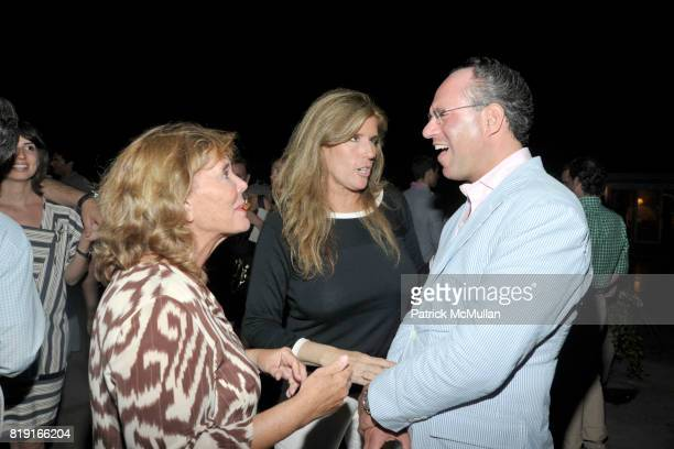 Judy Licht and Andrew Saffir attend THE CINEMA SOCIETY with VANITY FAIR HUGO BOSS host the after party for 'DINNER FOR SCHMUCKS' at Private Residence...