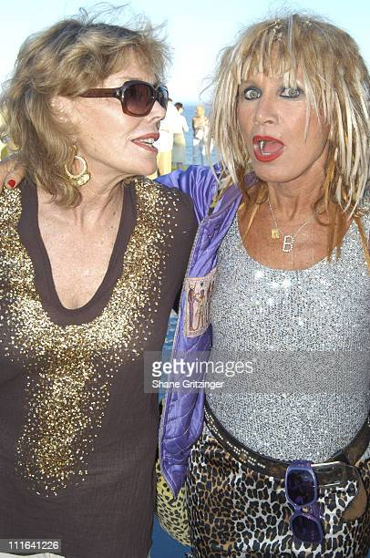 Judy Licht and Betsey Johnson during Body Positive Presents Garden Gala 18 Honoring Designer Betsey Johnson at Private Hampton Estate in East Hampton...