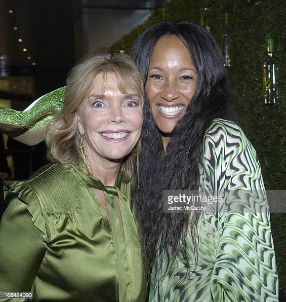 Judy Licht and Cynthia Garrett during Bacardi Big Apple Goes High Style at Time Warner Center in New York City New York United States
