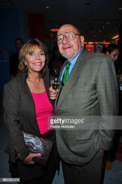 Judy Licht and Jerry Della Femina attend ASSOCIATION to BENEFIT CHILDREN hosts COCKTAILS IN CANDYLAND at Dylan's Candy Bar on June 18 2009 in New...