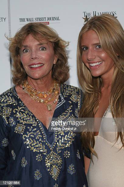 Judy Licht and Jessie Della Femina during The Cinema Society and The Wall Street Journal present a screening of 'The Night Listener' at East Hampton...