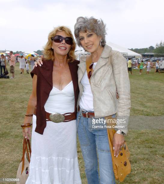 Judy Licht and Lauren Ezersky during Super Saturday 8 The World Famous Designer Garage Sale Benefiting The Ovarian Cancer Research Fund Hosted by...
