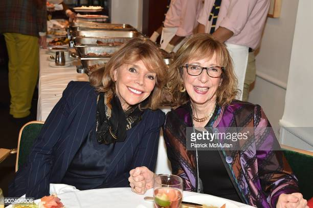 Judy Licht and Sarah Frank attend Joan Kron's 90th Birthday 'Take My NosePlease' Release Party at Michael's on January 7 2018 in New York City
