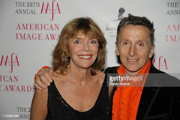 Judy Licht and Simon Doohan during 28th Annual American Image Awards Arrivals at Hyatt in New York City New York United States