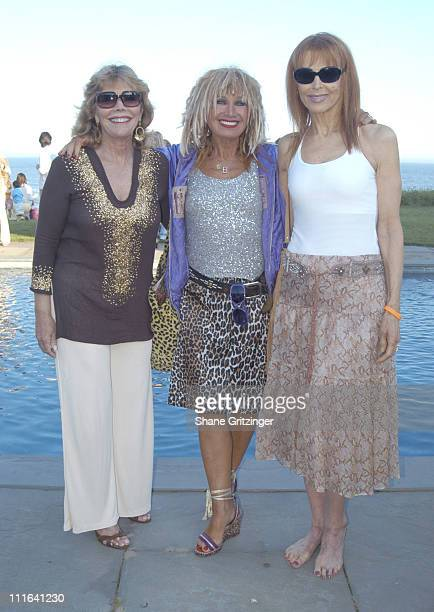 Judy Licht Betsey Johnson and Tina Louise during Body Positive Presents Garden Gala 18 Honoring Designer Betsey Johnson at Private Hampton Estate in...