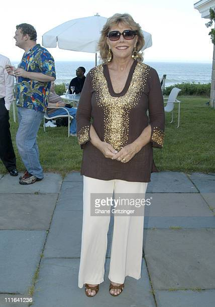 Judy Licht during Body Positive Presents Garden Gala 18 Honoring Designer Betsey Johnson at Private Hampton Estate in East Hampton New York United...