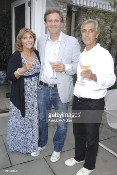 Judy Licht Michael Della Femina and Michael Holdin attend JUDY LICHT and JERRY DELLA FEMINA Hosts Cocktails for STEPHANIE WINSTON WOLKOFF and DAVID...