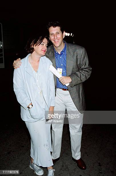 Judy McGrath Doug Herzog during 1995 MTV Movie Awards in Los Angeles California United States
