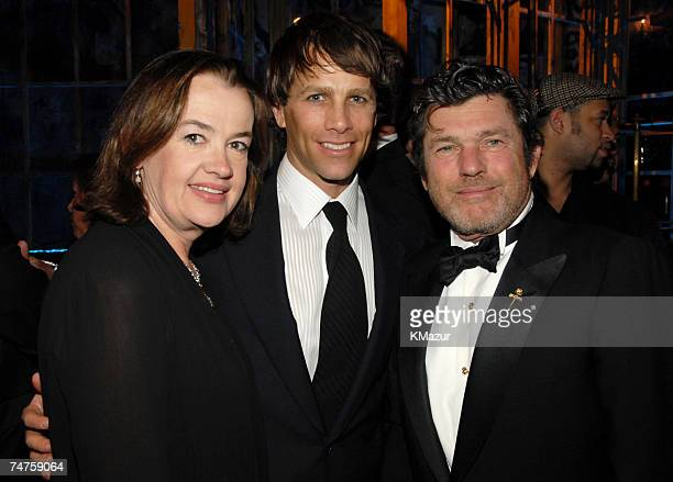 Judy McGrath Matt Nye and Jann Wenner Editor and Publisher of Rolling Stone at the Waldorf Astoria Hotel in New York City New York