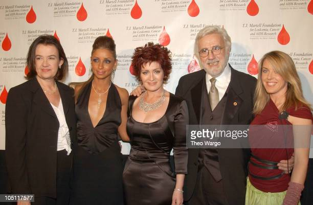 Judy McGrath Mya Sharon Osbourne Tony Martell and Liz Phair