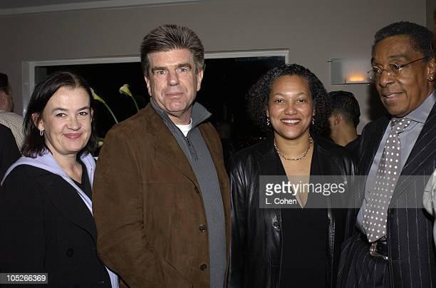 Judy McGrath Tom Freston Christina Norman and Don Cornelius