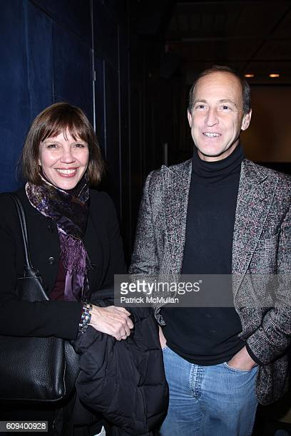 Judy Miller and Charles Ferguson attend A Special Screening of Magnolia Pictures NO END IN SIGHT at Scandanavia House on December 17 2007 in New York...
