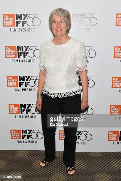 Judy Miller attends the 56th New York Film Festival Spring Night Summer Night premiere at Francesca Beale Theater on October 02 2018 in New York City