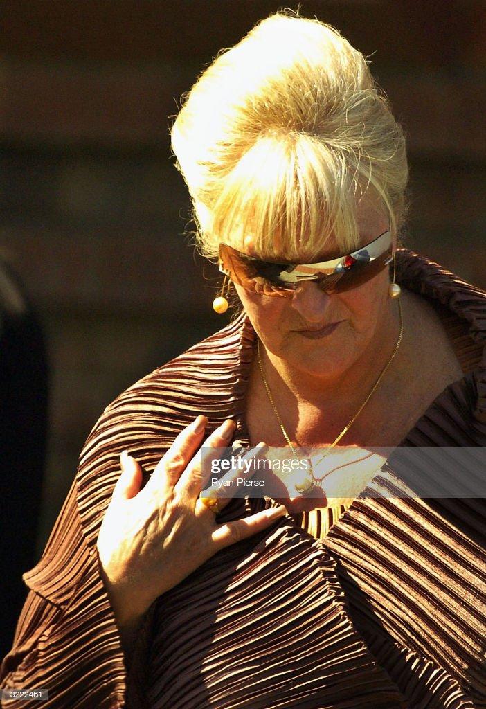 Judy Moran, estranged wife of Underworld figure Lewis Moran