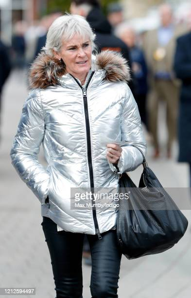 Judy Murray attends day 4 'Gold Cup Day' of the Cheltenham Festival 2020 at Cheltenham Racecourse on March 13 2020 in Cheltenham England