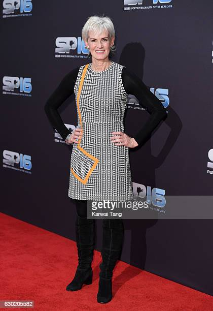 Judy Murray attends the BBC Sports Personality Of The Year at Resorts World on December 18 2016 in Birmingham United Kingdom