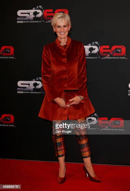 Judy Murray attends the BBC Sports Personality of the Year Awards at First Direct Arena on December 15 2013 in Leeds England