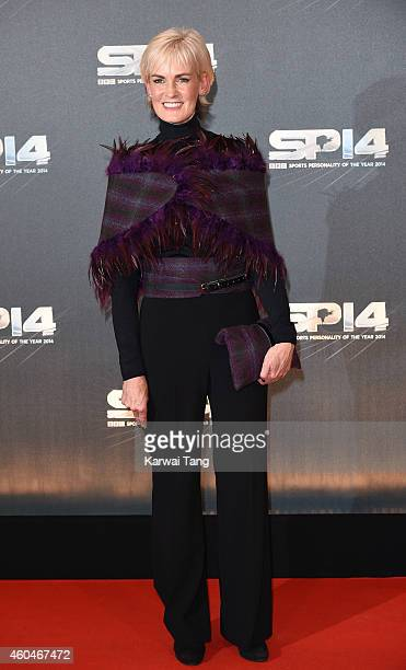 Judy Murray attends the BBC Sports Personality of the Year awards at The Hydro on December 14 2014 in Glasgow Scotland