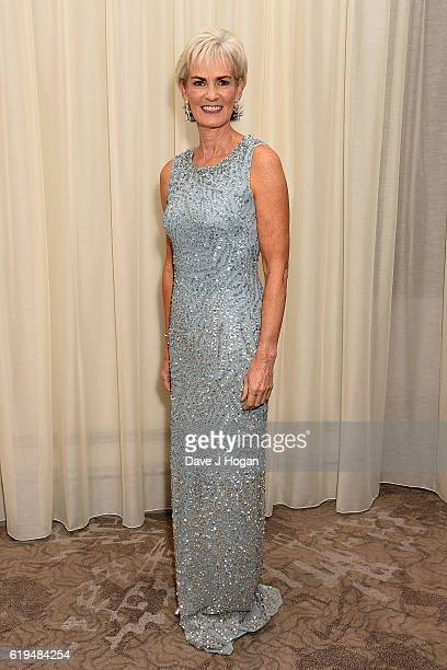 Judy Murray attends the Daily Mirror Pride of Britain Awards in Partnership with TSB at The Grosvenor House Hotel on October 31, 2016 in London,...