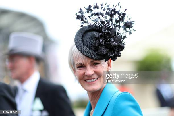 Judy Murray OBE on day three, Ladies Day, of Royal Ascot at Ascot Racecourse on June 20, 2019 in Ascot, England.