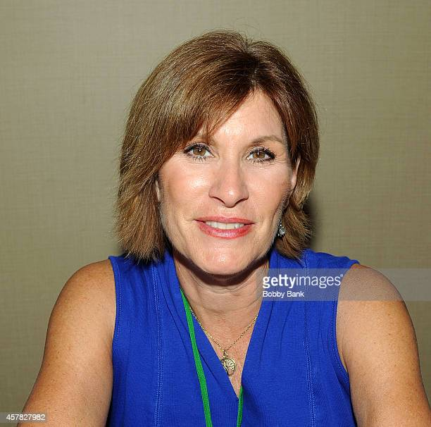 Judy Norton attends Day 1 of the Chiller Theatre Expo at Sheraton Parsippany Hotel on October 24 2014 in Parsippany New Jersey