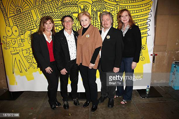 Judy Norton Barry Livingston Michael Learned Stan Livingston and Mary McDonough attend the Red Line Tours of Hollywood unveiling of their new series...