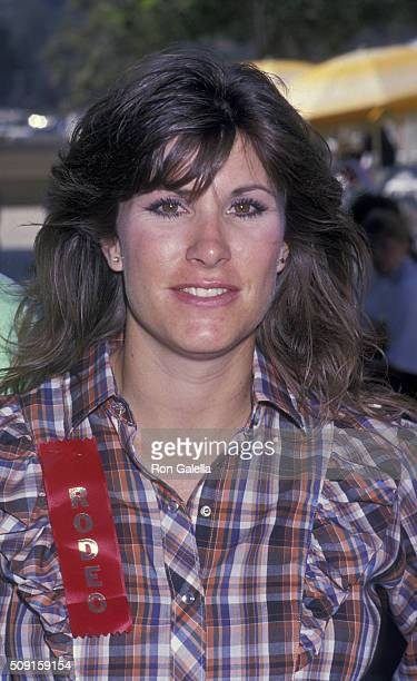 Judy Norton Taylor attends Ben Johnson ProCelebrity Rodeo Benefit on August 13 1989 at the Los Angeles Equestrian Center in Los Angeles California