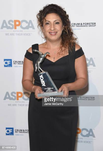Judy Obregon attends The ASPCA 2017 Humane Awards Luncheon at Cipriani 42nd Street on November 16 2017 in New York City