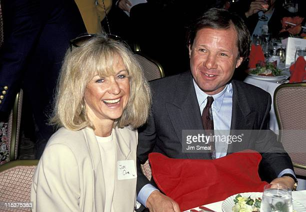 Judy Ovitz and Michael Ovitz during Entertainment Industry Education First Kickoff at Beverly Hills Hotel in Beverly Hills California United States