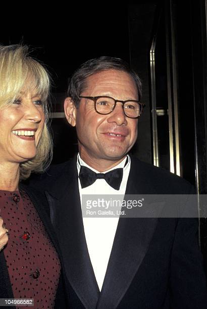 Judy Ovitz and Michael Ovitz during New York State Theater PEN American Center Gala Honors Arthur Miller at Lincoln Center in New York City New York...