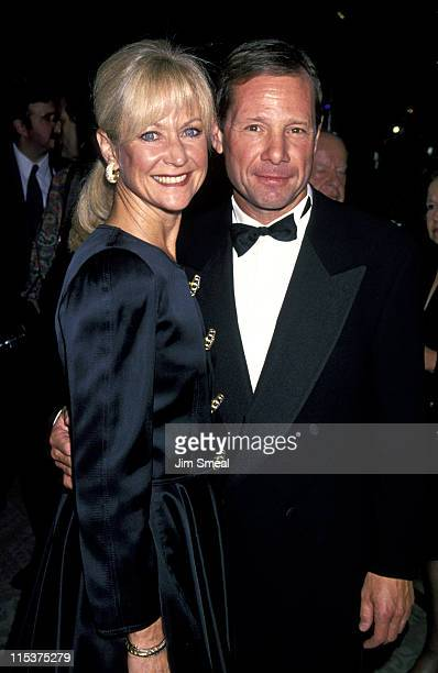 Judy Ovitz and Michael Ovitz during Weizmann Institute Of Science Dinner Honors Steven Spielberg at Beverly Hilton Hotel in Beverly Hills California...