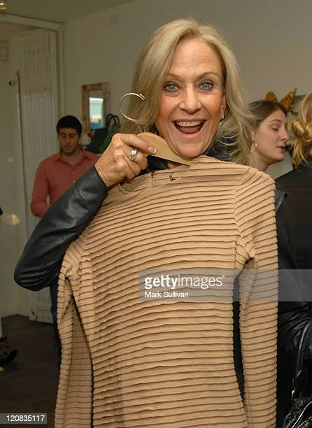 Judy Ovitz attends the Kimberly Ovitz Trunk Show at Satine Boutique on March 12 2009 in Los Angeles California