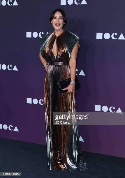 Judy Ovitz attends the MOCA Benefit 2019 at The Geffen Contemporary at MOCA on May 18 2019 in Los Angeles California